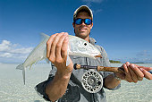 bonefish caught with flyrod