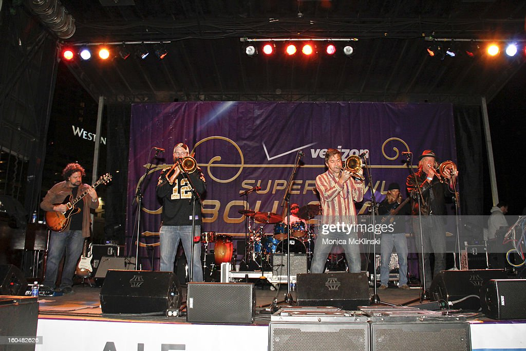 Boner performs during the Verizon Super Bowl Boulevard at Woldenberg Park on January 31, 2013 in New Orleans, Louisiana.