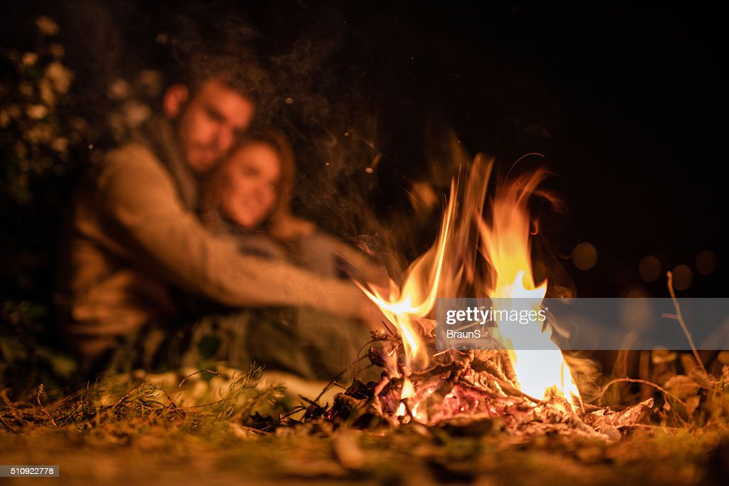The fire witnessed their love