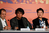 """""""Parasite"""" Press Conference - The 72nd Annual Cannes..."""