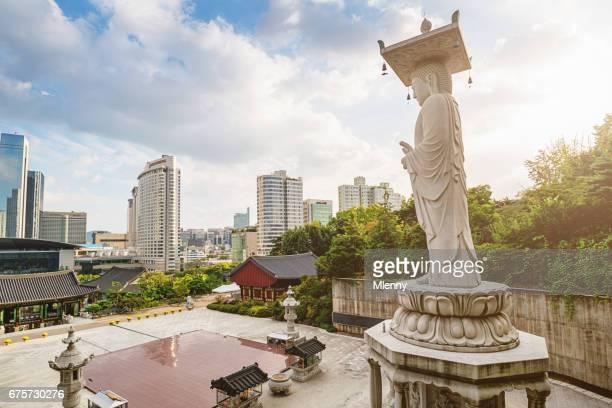 Bongeunsa Temple Seoul South Korea Cityscape