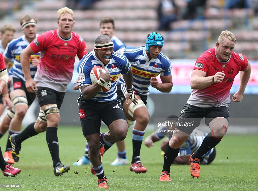 Bongi Mbonambi of Western Province during the Absa Currie Cup match between DHL Western Province and Steval Pumas at DHL Newlands Stadium on...