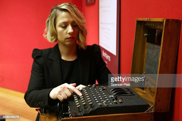 Bonham's senior specialist Cassandra Hatton discusses a working Enigma cipher machine that along with the 1942 56page notebook belonging to...