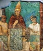 Boniface VIII announces the Holy Year fresco by Giotto St John Lateran's Archbasilica Rome Italy 14th century