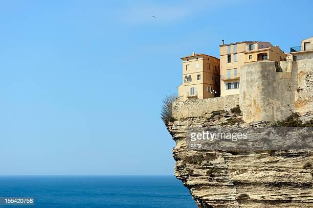 Bonifacio on the Island of Corsica