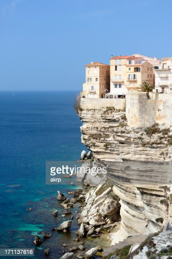 Bonifacio on the Island of Corsica