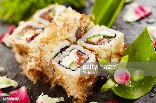 Bonito Sushi Rolls : Stock Photo