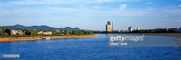 Bonn, along the banks of the Rhine river