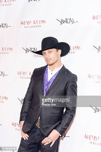 Bonner Bolton attends Heidi Klum's 17th Annual Halloween Party Arrivals at Vandal on October 31 2016 in New York City