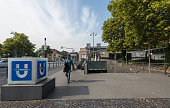 BonnGronau Heussallee/Museumsmeile subway station in Bonn Germany 09 September 2014 Bonn that offers many touristic attractions was founded in the...