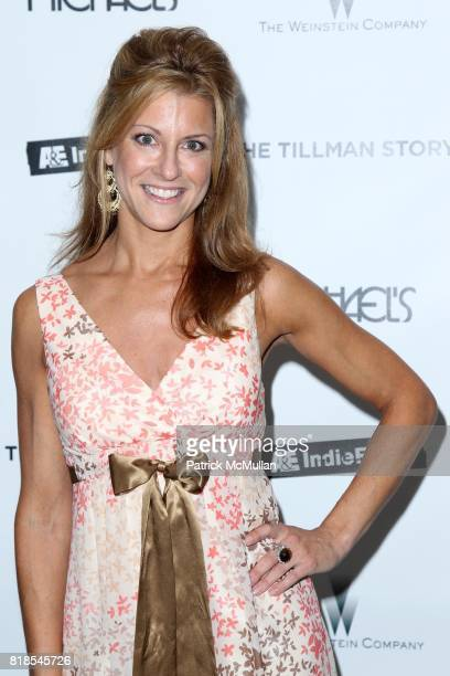 Bonnie Bernstein attends MICHAEL'S Hosts the New York Premiere of The Weinstein Company's THE TILLMAN STORY at Moma/Michael's on August 09 2010 in...