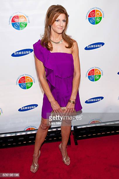 Bonnie Bernstein attends 'Samsung's 8th Annual Four Seasons of Hope Gala' at Cipriani Wall Street in New York City