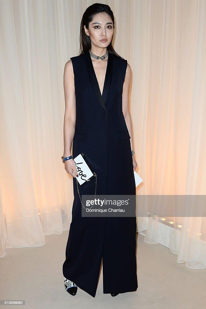 Lanvin : Front Row- Paris Fashion Week Womenswear Fall ...