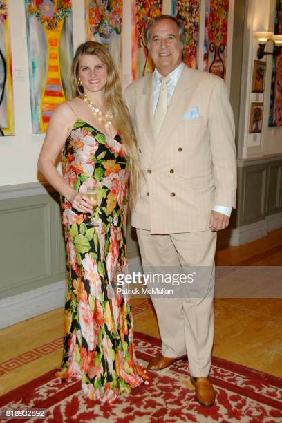 Bonnie Comley and Stewart F Lane attend MICHELLEMARIE HEINEMANN and TERRI LINDVALL'S Lecture and Private Dinner to benefit the YORKVILLE COMMON...