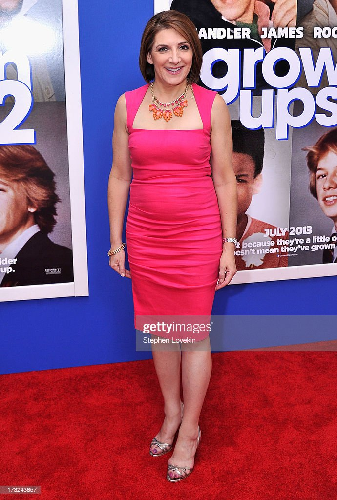 Bonnie Fuller attends the 'Grown Ups 2' New York Premiere at AMC Lincoln Square Theater on July 10, 2013 in New York City.