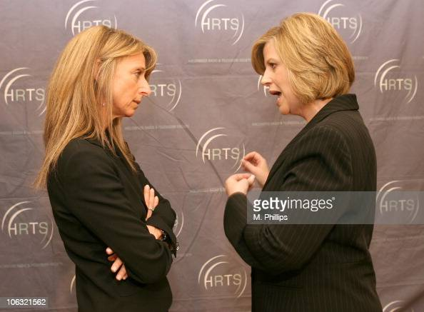 Bonnie Hammer President USA Network Sci Fi Channel and Abbe Raven President/CEO AE TV Networks