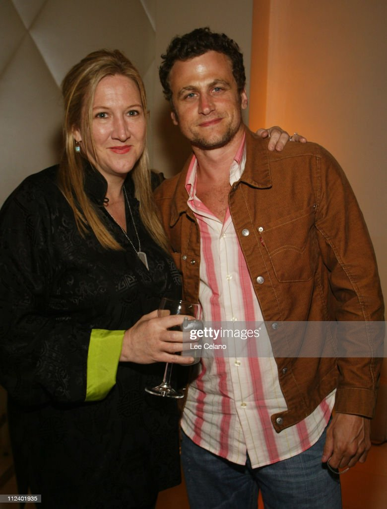 Bonnie Hlinomazproducer with David Moscow during 'Stateside' Los Angeles Premiere After Party at Eurochow in Westwood California United States