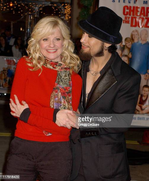 Bonnie Hunt and Dave Navarro during 'Cheaper by the Dozen 2' Los Angeles Premiere Arrivals at Mann Village Theatre in Westwood California United...