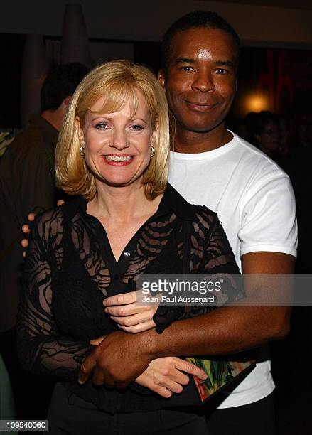Bonnie Hunt and David Alan Grier during ABC AllStar Party at Astra West in West Hollywood California United States