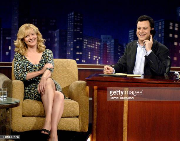 Bonnie Hunt and Host Jimmy Kimmel on the 'Jimmy Kimmel Live' show on ABC Photo by Jaimie Trueblood/WireImage/ABC