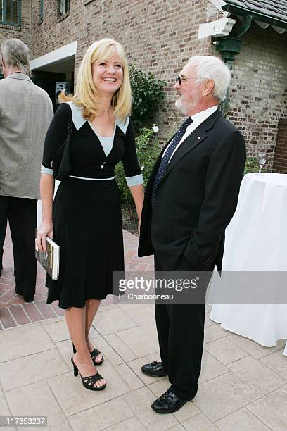 Bonnie Hunt and Norman Jewison during Norman Jewison Book Signing Hosted by Alain Dudoit Consul General of Canada at Canadian Residence in Los...