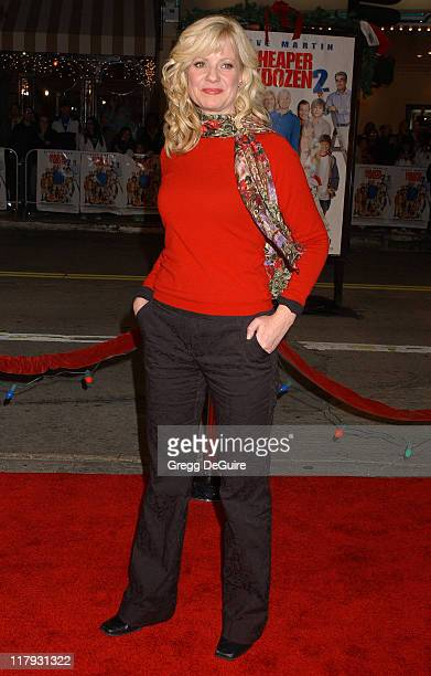 Bonnie Hunt during 'Cheaper by the Dozen 2' Los Angeles Premiere Arrivals at Mann Village Theatre in Westwood California United States