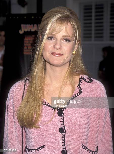Bonnie Hunt during 'Jumanji' Los Angeles Premiere at Sony Pictures in Los Angeles California United States