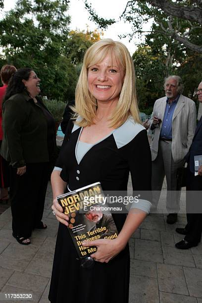 Bonnie Hunt during Norman Jewison Book Signing Hosted by Alain Dudoit Consul General of Canada at Canadian Residence in Los Angeles California United...