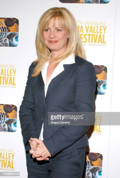 Bonnie Hunt during The 10th Annual Sonoma Valley Film Festival Presents a Tribute to Pixar's John Lasseter Red Carpet and After Party at Cline Winery...