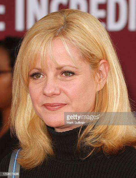 Bonnie Hunt during 'The Incredibles' Los Angeles Premiere Arrivals at El Capitan in Hollywood California United States