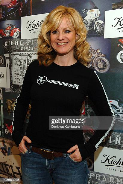 Bonnie Hunt in Kiehl's during 2005 Park City Motorola Lodge at Motorola Lodge in Park City Utah United States