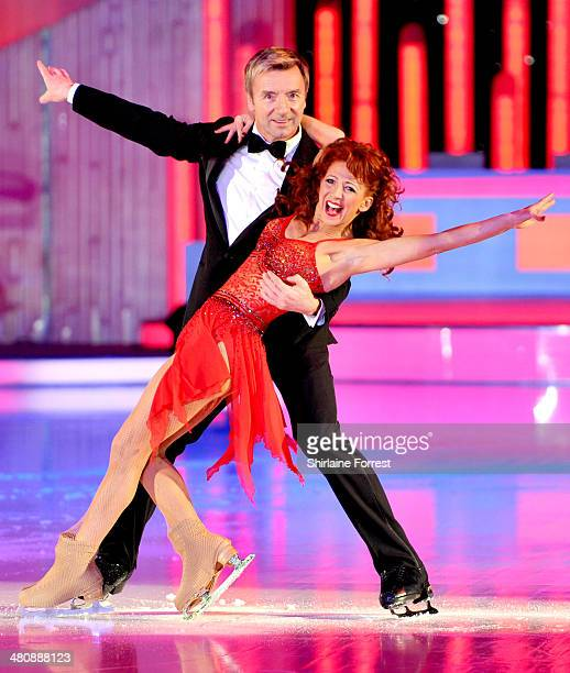 Bonnie Langford and Christopher Dean attend a photocall to launch the final tour of Torvill Dean's Dancing On Ice at Phones 4 U Arena on March 27...