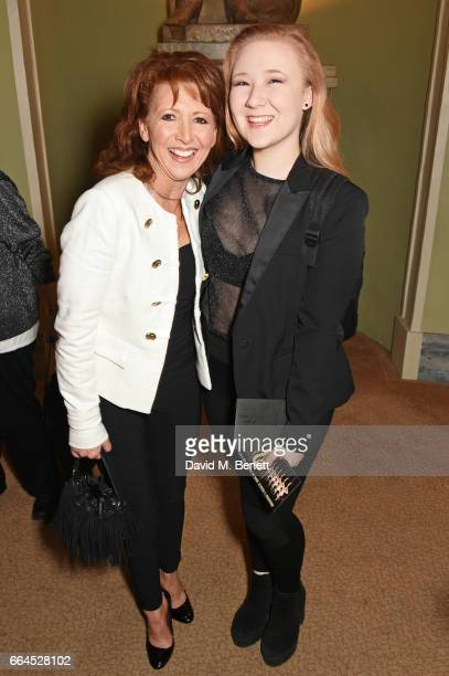 Bonnie Langford and daughter Biana Grunert attend the Opening Night Royal Gala performance of '42nd Street' in aid of the East Anglia Children's...