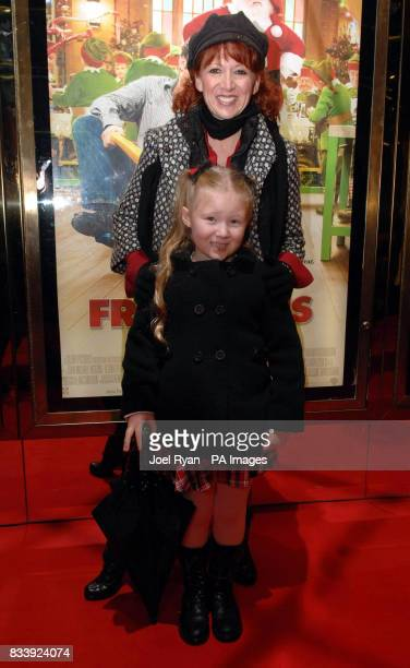 Bonnie Langford and her daughter Bibi arrive for the European Premiere of Fred Claus at the Empire cinema in Leicester Square central London