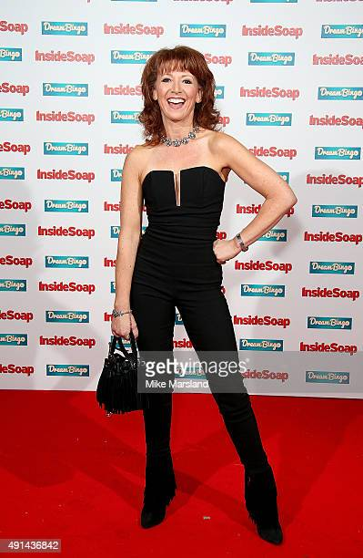 Bonnie Langford attends the Inside Soap Awards at DSKTRT on October 5 2015 in London England