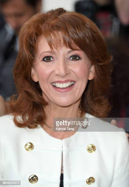 Bonnie Langford attends the opening night of '42nd Street' at Theatre Royal on April 4 2017 in London England The opening night is a fundraising...