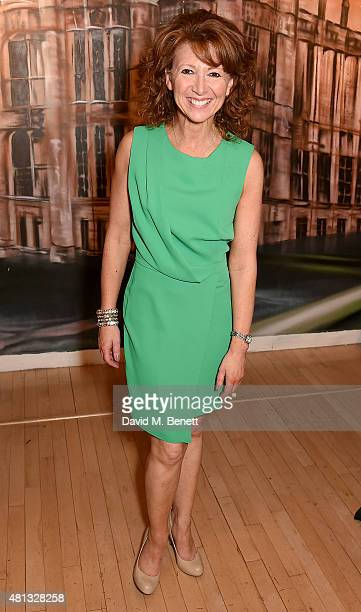 Bonnie Langford attends the press night performance of 'The Car Man' at Sadler's Wells Theatre on July 19 2015 in London England