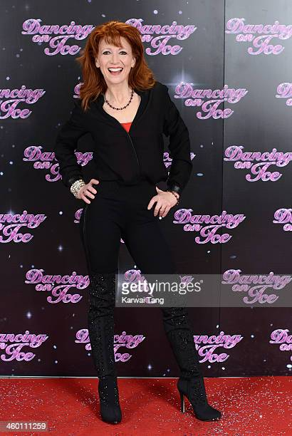 Bonnie Langford attends the series launch photocall for 'Dancing on Ice' held at the London Studios on January 2 2014 in London England