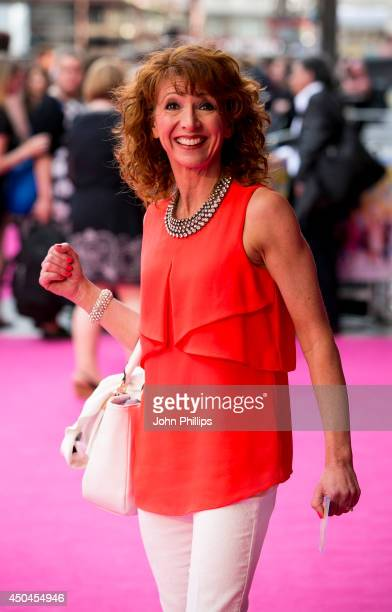 Bonnie Langford attends the UK Premiere of 'Walking On Sunshine' at Vue West End on June 11 2014 in London England