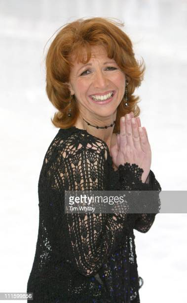 Bonnie Langford during 'Dancing on Ice' Photocall at Natural History Museum in London Great Britain