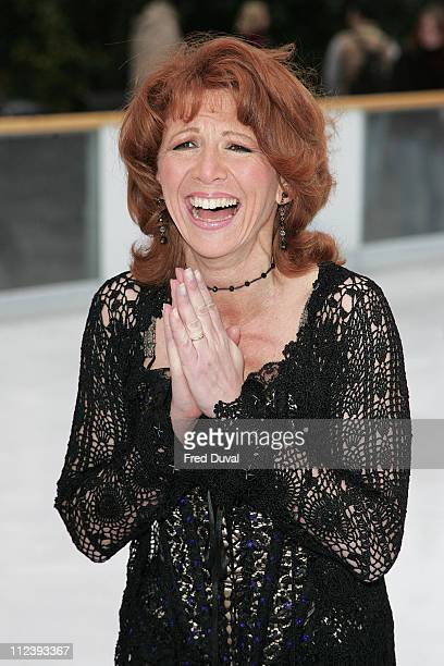 Bonnie Langford during 'Dancing on Ice' TV Press Launch at Natural History Museum in London Great Britain