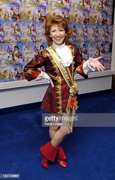 Bonnie Langford during Guildford Production of 'Cinderella' Press Launch and Photocall at Yvonne Arnaud Theatre Guildford in Surrey Great Britain