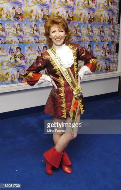 Bonnie Langford during Guildford Production of 'Cinderella' Press Launch and Photocall at Yvonne Arnaud Theatre in Guildford Great Britain