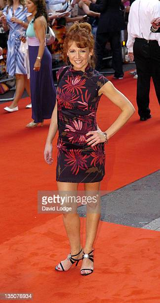 Bonnie Langford during 'Stormbreaker' London Premiere at Vue West End in London Great Britain