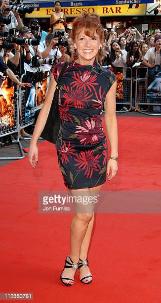 Bonnie Langford during 'Stormbreaker' London Premiere Inside Arrivals at Vue West End in London Great Britain