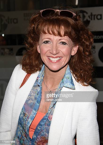 Bonnie Langford sighting at BBC radio one studios on June 11 2013 in London England