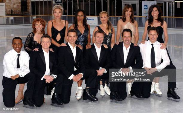 Bonnie Langford Tamara Beckwith Dame Kelly Holmes Jayne Torvill Andrea McLean and Gaynor Faye Andi Peters Sean Wilson Stefan Booth Christopher Dean...