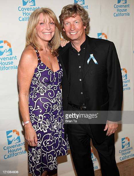 Bonnie Lythgoe and Nigel Lythgoe attend the 10th Annual Covenant House Awards Gala at The Beverly Hilton Hotel on June 5 2009 in Beverly Hills...