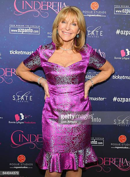 Bonnie Lythgoe arrives ahead of opening night of Cinderella at State Theatre on July 1 2016 in Sydney Australia
