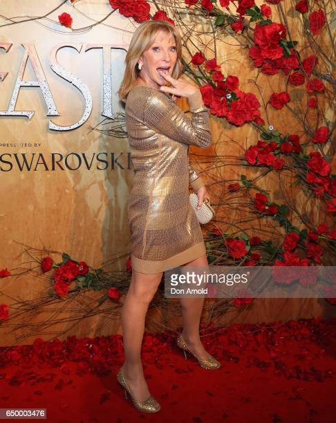 Bonnie Lythgoe arrives ahead of the Beauty And The Beast Australian Premiere at State Theatre on March 9 2017 in Sydney Australia